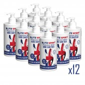 Blitz Spirit Hand Sanitiser 12x500ml