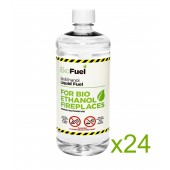 24L Bioethanol Fuel For Fireplaces (24 x 1L)