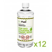 12L Bioethanol Fuel For Fireplaces (12 x 1L)