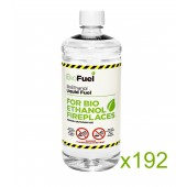 192L Bioethanol Fuel For Fireplaces (192 x 1L)