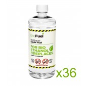 36L Bioethanol Fuel For Fireplaces (36 x 1L)