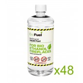 48L Bioethanol Fuel For Fireplaces (48 x 1L)