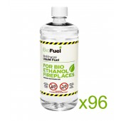 96L Bioethanol Fuel For Fireplaces (96 x 1L)