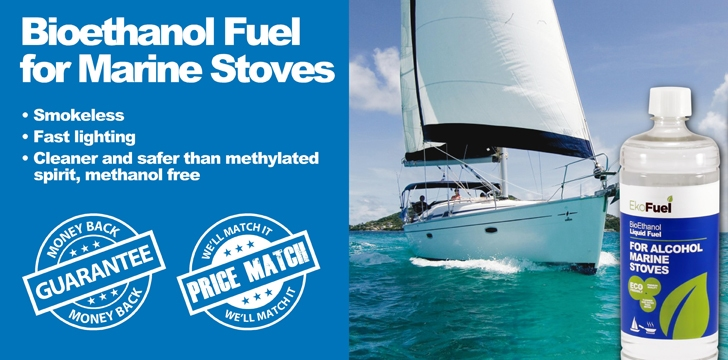 Alcohol Fuel for marine stoves